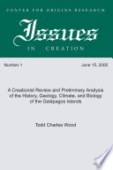 A Creationist Review and Preliminary Analysis of the History  Geology  Climate  and Biology of the Galapagos Islands