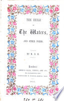 The exile of the waters  and other poems by M D H
