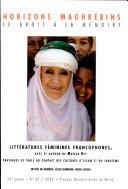 Littératures féminines francophones