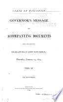 Public Documents of the State of Wisconsin Book PDF
