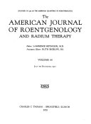The American Journal Of Roentgenology And Radium Therapy