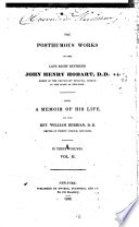 The posthumes works of the late right reverend Hobart