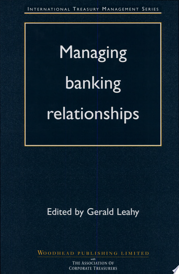 Managing Banking Relationships