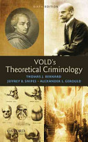 Vold S Theoretical Criminology