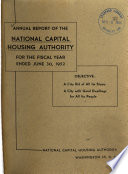 Annual Report   National Capital Housing Authority