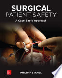 Surgical Patient Safety  A Case Based Approach Book