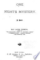 One Night's Mystery