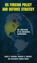 US Foreign Policy and Defense Strategy Pdf/ePub eBook