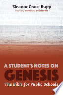A Student S Notes On Genesis