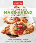 The Complete Make-Ahead Cookbook Pdf/ePub eBook