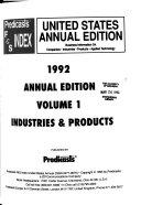 Predicasts F S Index United States Book PDF