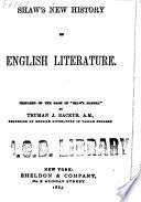 Shaw's New History of English Literature