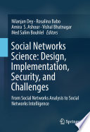 Social Networks Science  Design  Implementation  Security  and Challenges
