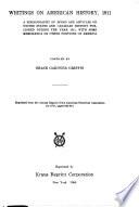 Writings On American History