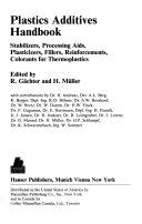 Plastics Additives Handbook Book