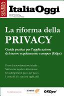 La riforma della privacy
