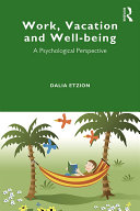 Work, Vacation and Well-being [Pdf/ePub] eBook