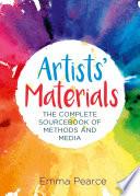 Artists  Materials Book