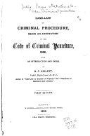 Case Law On Criminal Procedure