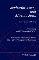 Sephardic Jewry and Mizrahi Jews