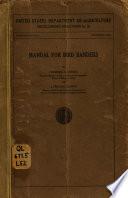 Manual for Bird Banders
