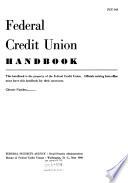 Federal Credit Union Handbook