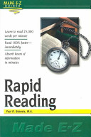 Rapid Reading Made E-Z