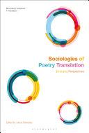 Sociologies of Poetry Translation