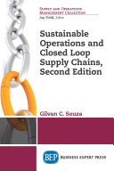 Sustainable Operations and Closed Loop Supply Chains  Second Edition Book