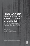 Pdf Language and Translation in Postcolonial Literatures Telecharger
