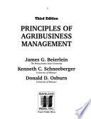Principles of Agribusiness Management