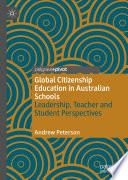 Global Citizenship Education In Australian Schools