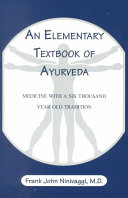 An Elementary Textbook of Ayurveda