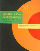 Aestheticism & Modernism