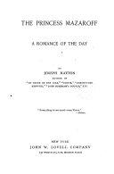 The Princess Mazaroff