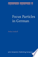 Focus Particles In German Book PDF