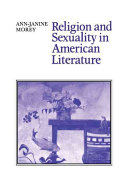Religion and Sexuality in American Literature