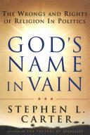God's Name In Vain Pdf/ePub eBook
