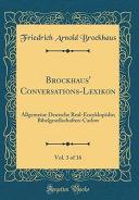Brockhaus' Conversations-Lexikon, Vol. 3 of 16