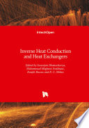 Inverse Heat Conduction and Heat Exchangers Book