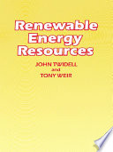 Renewable Energy Resources Book