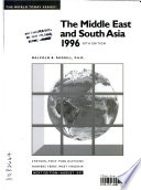 The Middle East and South Asia, 1996