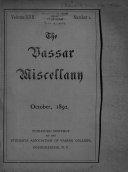 The Vassar Miscellany