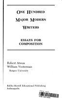 One Hundred Major Modern Writers