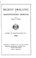 Report of Investigations   Missouri Geological Survey and Water Resources