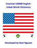 Essential 120000 English Uzbek Words Dictionary