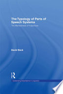 The Typology Of Parts Of Speech Systems
