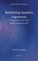 Rethinking Anselm s Arguments