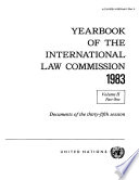 Yearbook of the International Law Commission 1983, Vol II, Part 1