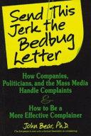 Send this Jerk the Bedbug Letter Book